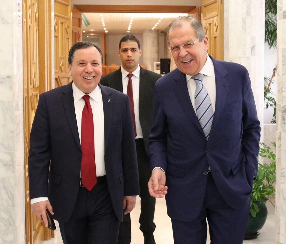في جلسة عمل مشتركة بين وزيري خارجية تونس وروسيا: حرص مشترك على تعزيز العلاقات الثنائية في مختلف المجالات: