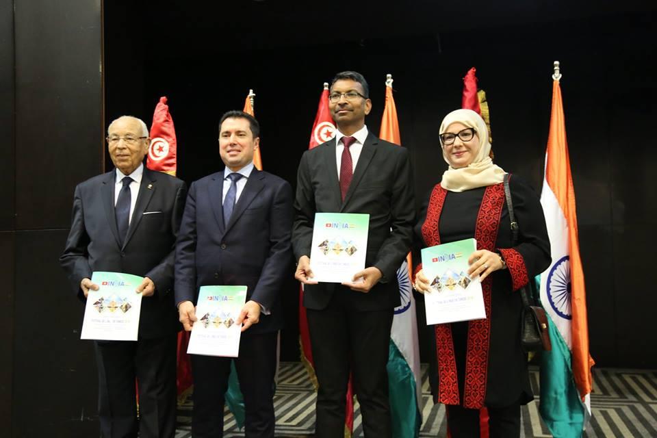 في حضور شخصيات رسمية: سفارة الهند بتونس تحتفل بالعيد 70 لجمهوريتها: