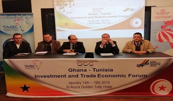 """من 14 إلى 17 جانفي 2019 : مهمّة تونسية  استكشافية متعددة القطاعات في """" غانا """":"""