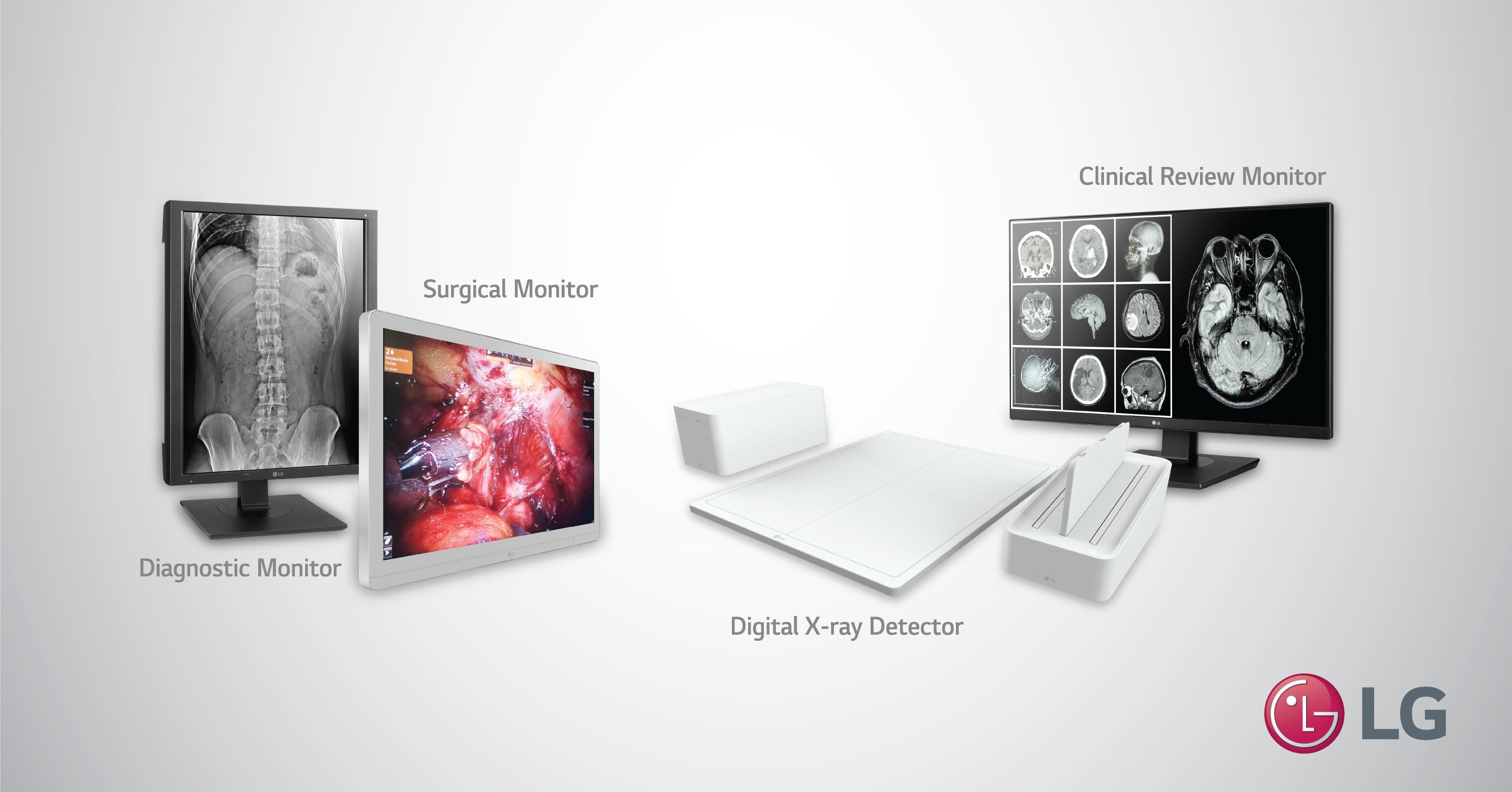 إل جي تقدم في آراب هيلث 2019 حلول التصوير الطبي اللازمة للرعاية الشاملة للمرضى: