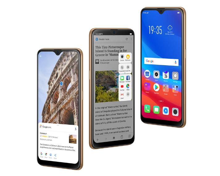 A7 OPPO الهاتف بشاشة كاملة فائقة الدقة يعيد تعريف التصميم المتطور: