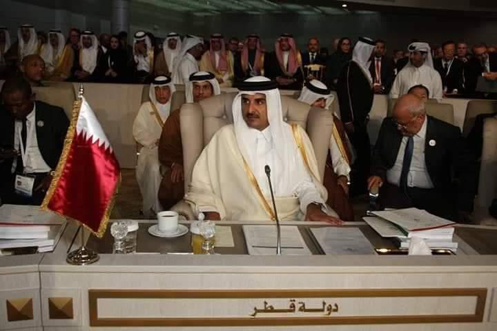 مغادرة أمير قطر قبل انتهاء الاشغال مبرمجة من قبل :