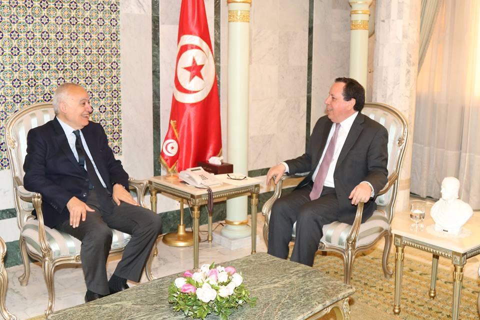 وزير الشؤون الخارجية يبحث مع رئيس بعثة الدعم الأممي في ليبيا مستجدات الأوضاع في ليبيا: