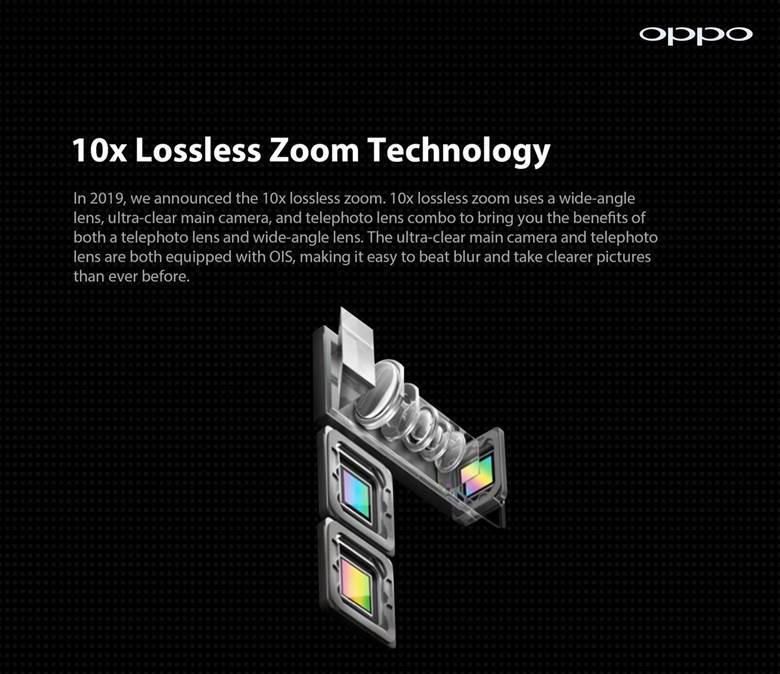 OPPO تؤكد إطلاق تقنية التقريب 10 أضعاف فائق الجودة (10x Hybrid Zoom) في أسواق الشرق الأوسط: