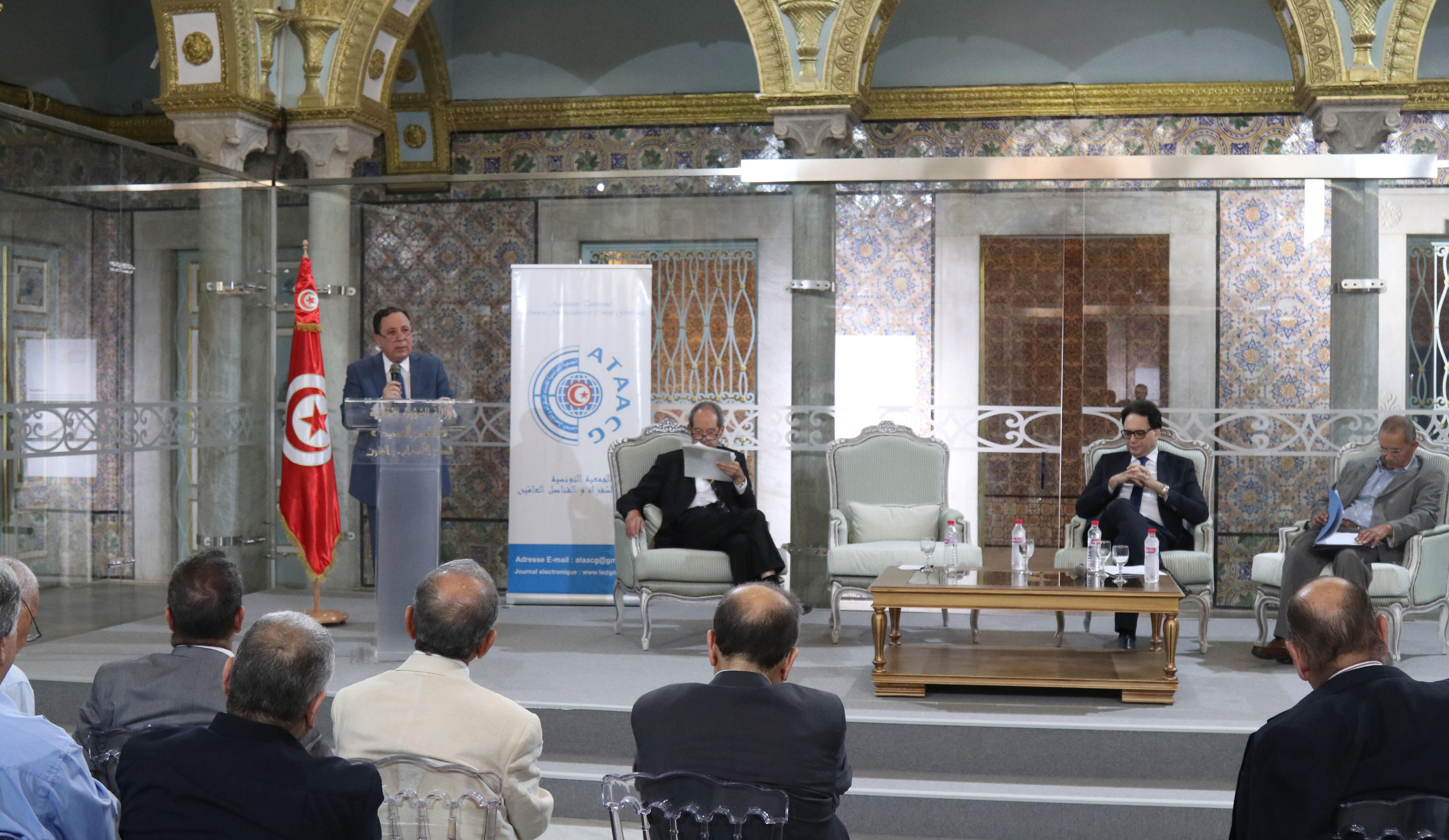 وزير الخارجية يؤكد على أهمية استثمار ما تزخر تونس به من مقومات حضارية وثقافية ومخزون تراثي لخدمة الأهداف التنموية:
