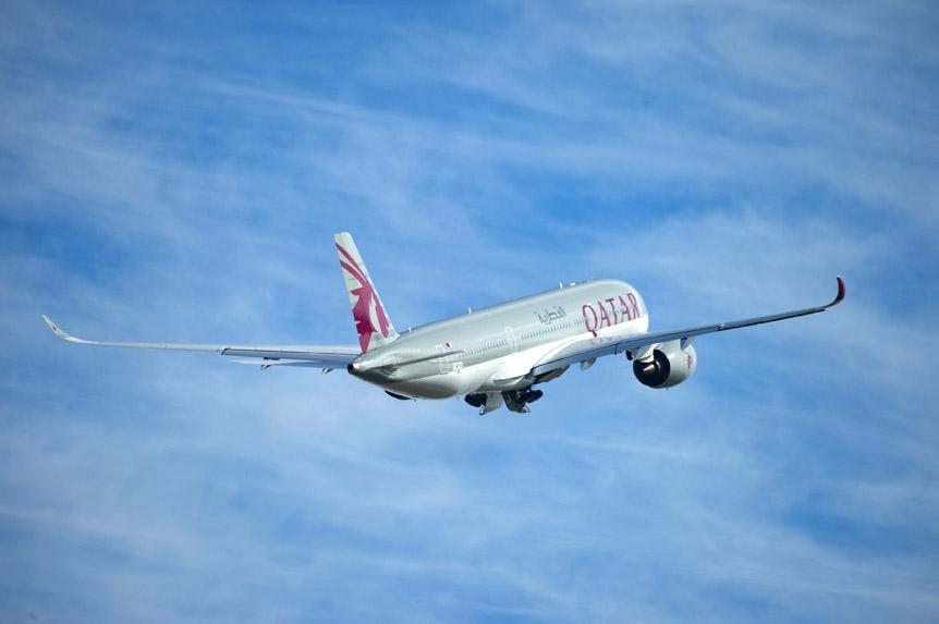 الخطوط الجوية القطرية تسيّر طائرة من طراز إيرباص A350 إلى تونس:
