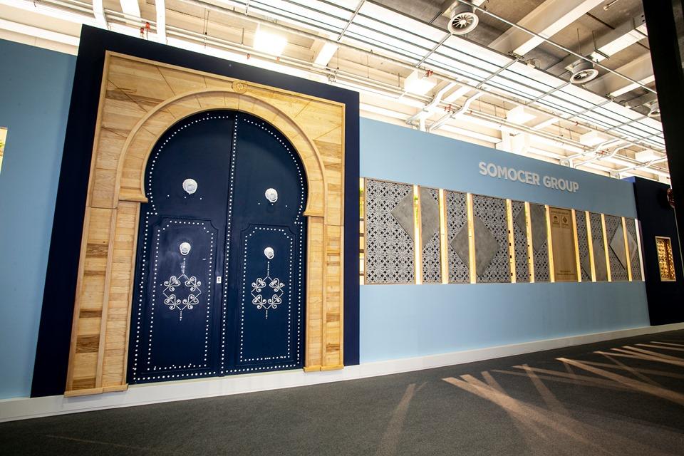 """مجموعة """"Somocer """" في أكبر معرض دولي للسيراميك في مجال المعمار والبناء:"""
