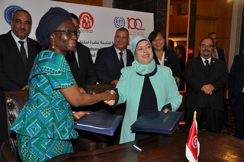 منظمة العمل الدولية توحد جهودها مع صندوق الودائع والأمانات لتنمية المناطق ذات الأولوية في تونس: