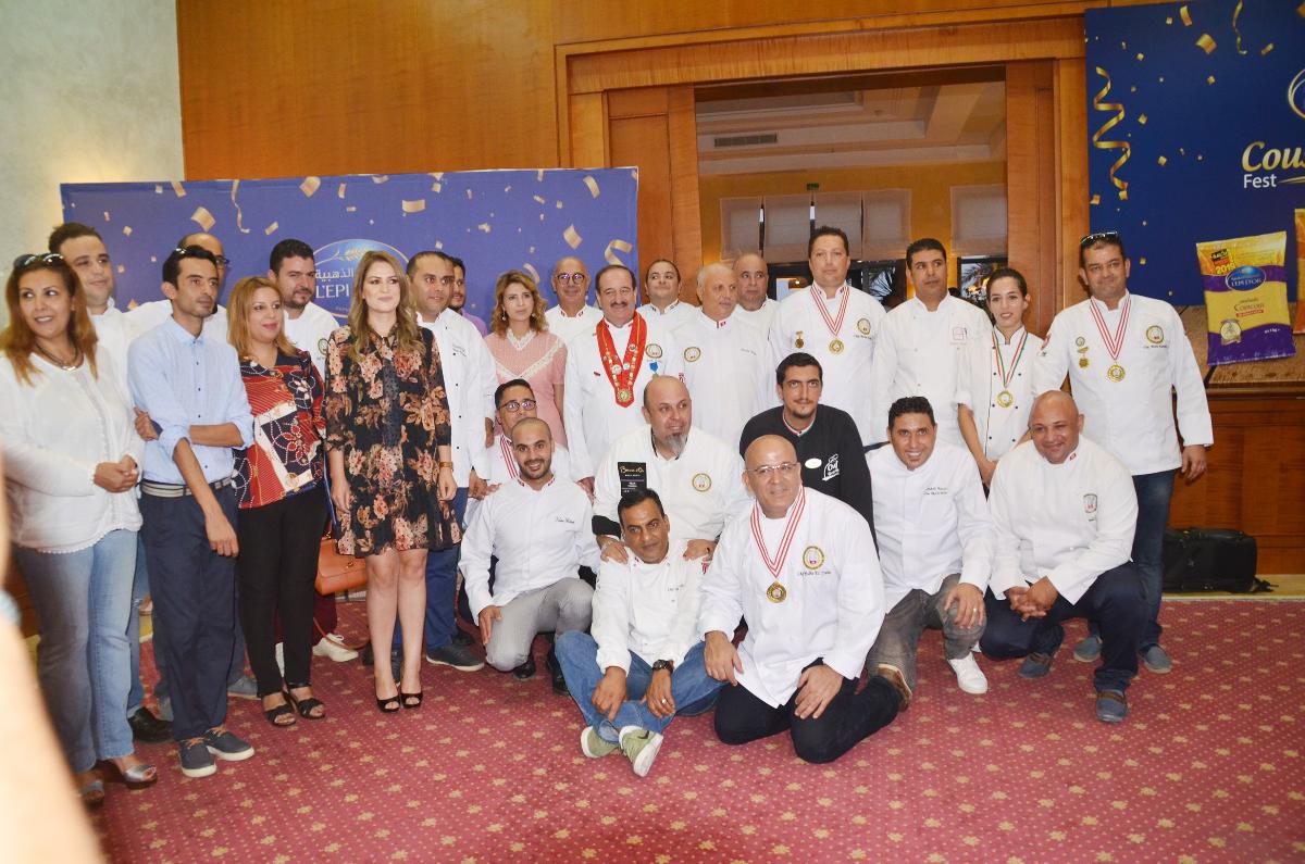 السنبلة الذهبيّة تساند مشاركة 3 طبّاخين تونسيين في بطولة العالم للكسكسي: