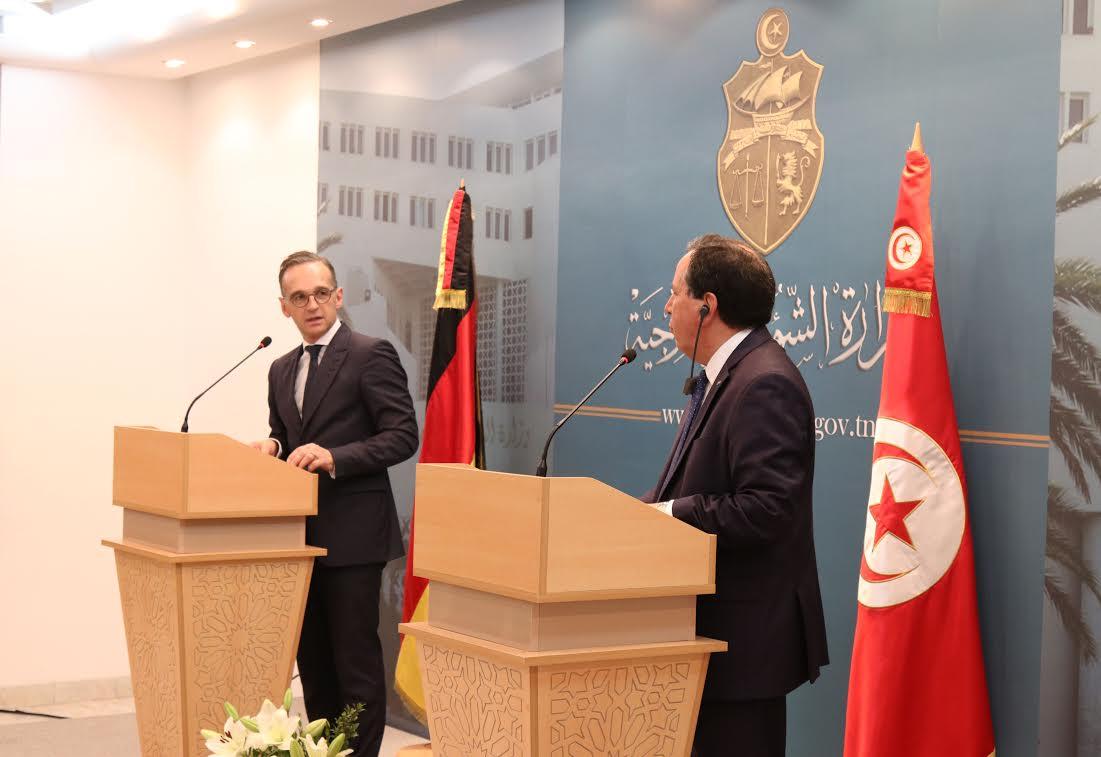 تعزيز التعاون الثنائي والأوضاع في ليبيا أهم محاور لقاء وزير الخارجية بنظيره الألماني:
