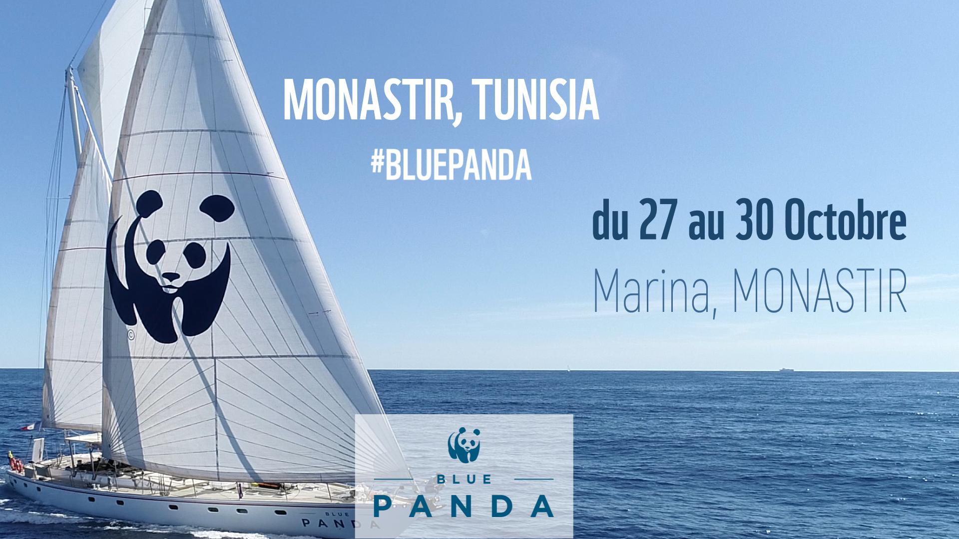 """""""بلو باندا""""سفينة الصندوق العالمي للطبيعة تصل إلى المنستير:"""