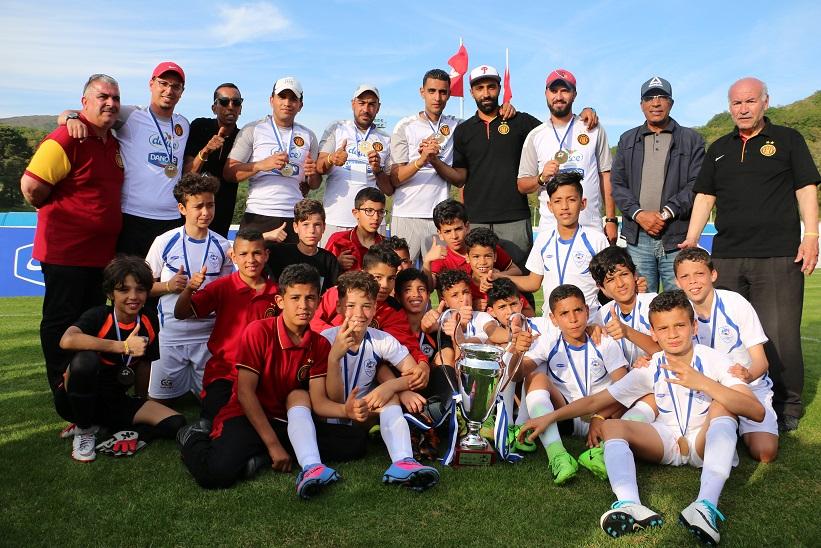 """فريقا مدارس وأداني الترجي الرياضي في نهائيات كأس """" دليس دانون """" للأمم بإسبانيا:"""