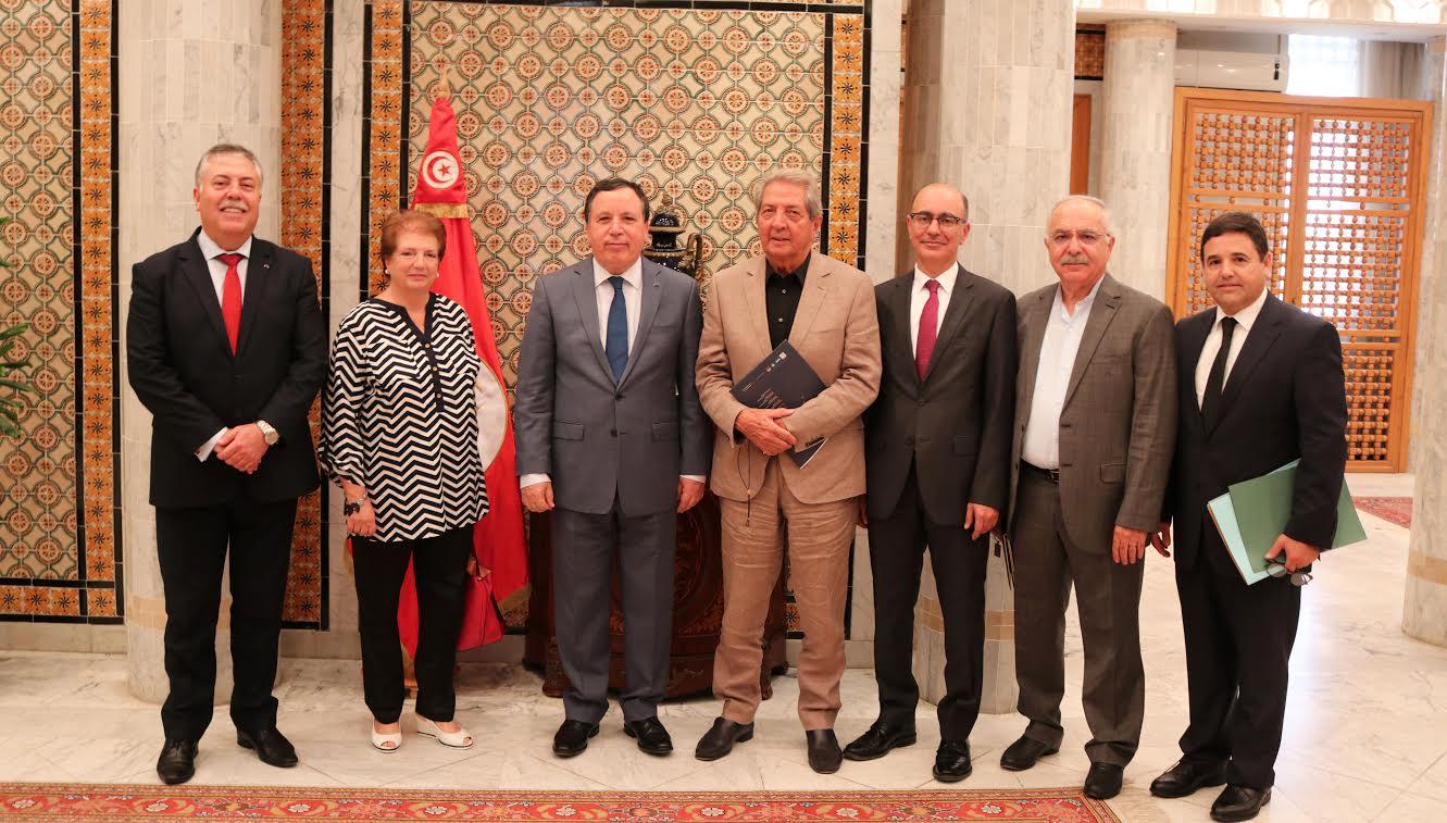 وزير الشؤون الخارجية يستقبل وفدا عن الجمعية التونسية لللأمم المتحدة: