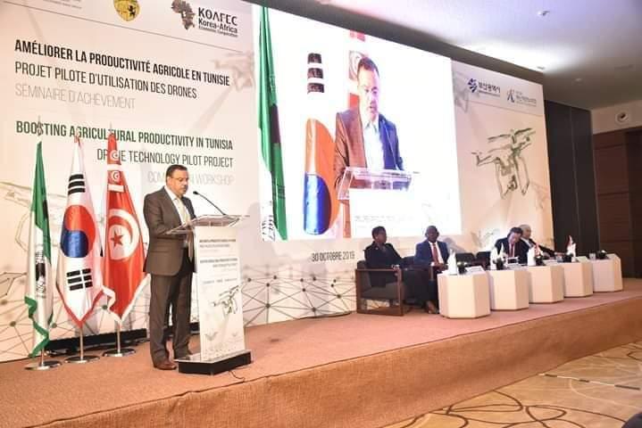 تونس ستحتضن مركز إقليمي خاص بالطائرات دون طيار يكون مكملا للمشروع النموذجي المتعلق باستخدام الطائرات بدون طيار:
