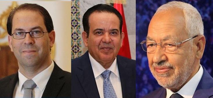 سفير قطر يلتقي رئيس الحكومة ورئيس مجلس نواب الشعب: