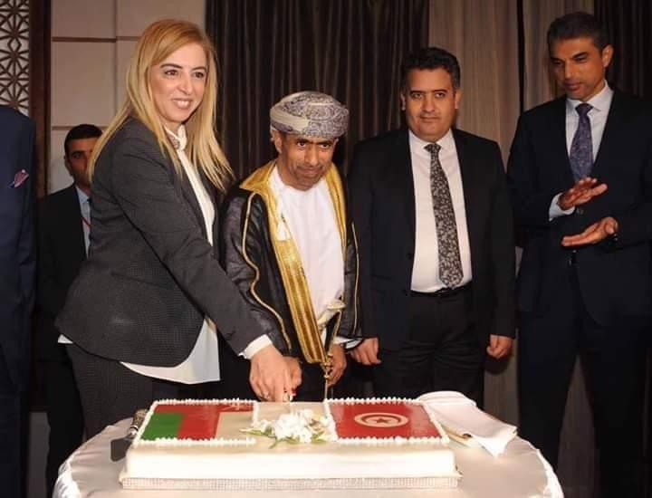 سفارة سلطنة عمان بتونس تحتفل بعيدها الوطني  49 :