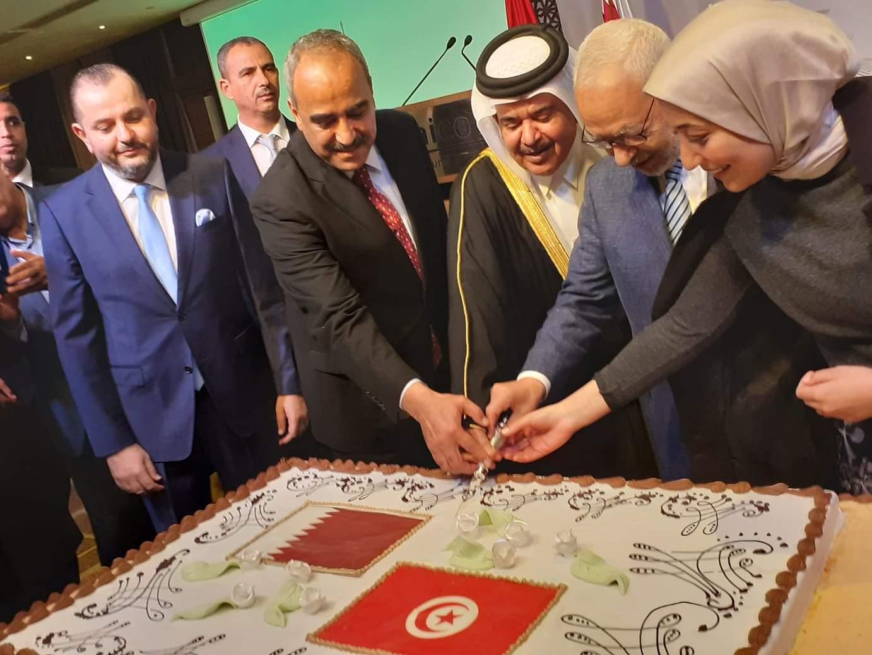 سفارة دولة قطر بتونس تحتفل بعيدها الوطني: