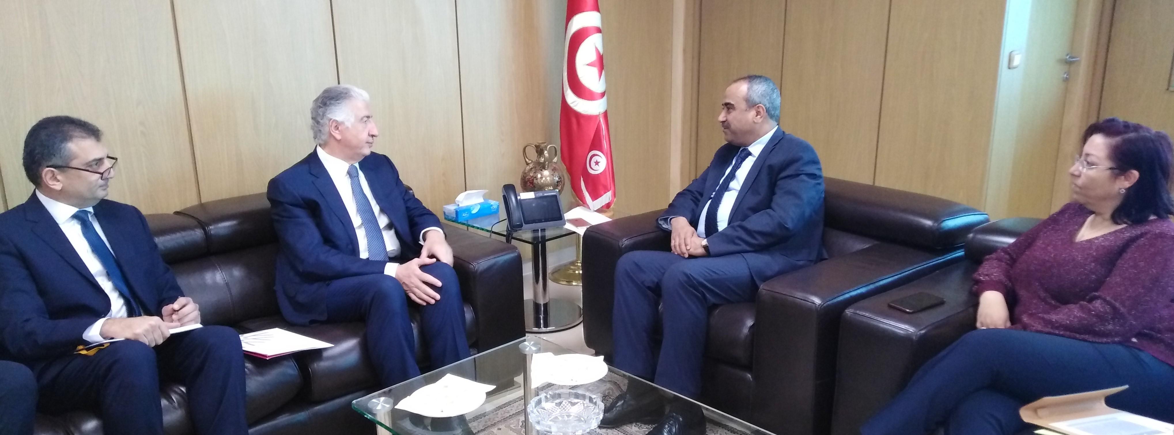 """نوفمبر 2020: تونس تحتضن اجتماع مجلس حوكمة برنامج """"جسور التجارة العربية الإفريقية"""":"""