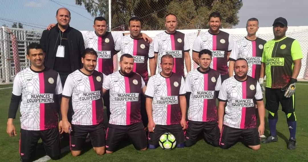 """فريق """"إتحاد الخبراء العدليين بالمهدية""""يترشح للدور الربع النهائي في كأس المرحوم """"حسين الشاهد"""":"""
