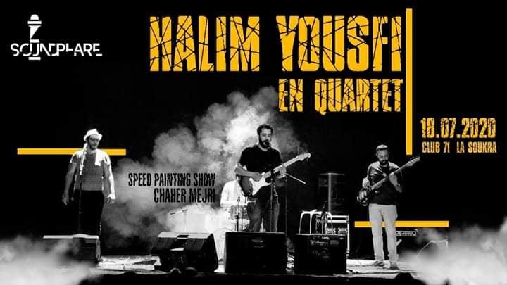 Halmi Yousfi  sur scène ce samedi à La Soukra