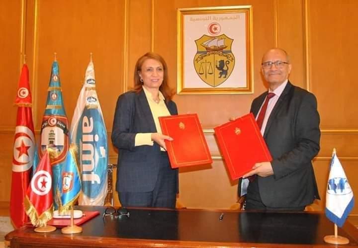 بلدية تونس توقّع اتفاقيتي تمويل مع الجمعية الدولية لرؤساء البلديات الفرنكوفونية: