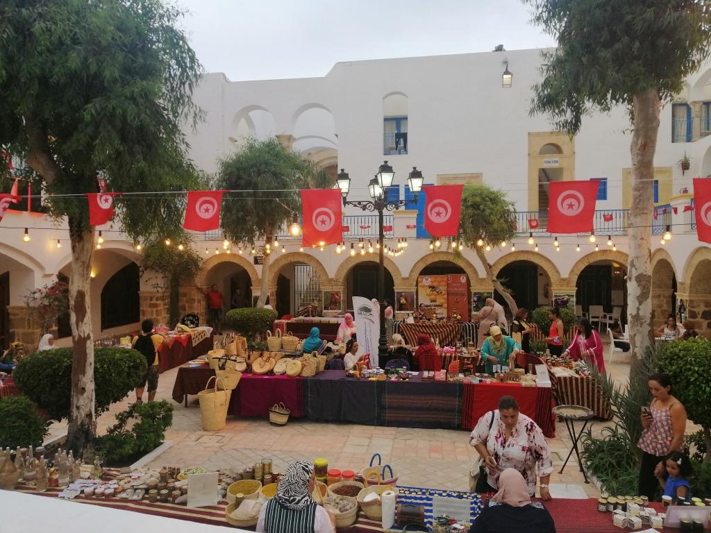 La Medina Mediterranea de Yasmine Hammamet à abrité «La Première édition: Journées Femme et Produits du terroir Tunisien» du 14 au 16 Aout 2020
