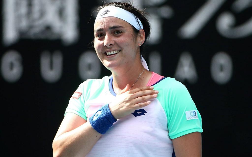 بطلة التنس أنس جابر في تربص بالمركب الرياضي المرادي بحمام بورقيبة: