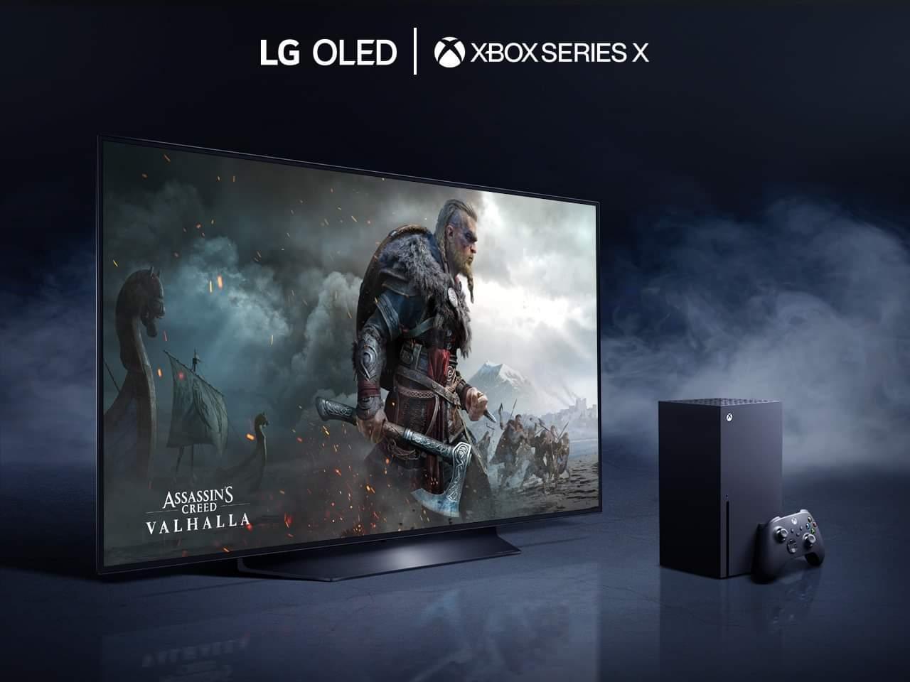 أجهزة تلفاز OLED من آل – جي و XBOX SERIES X تحرر تجربة الألعاب من وحدة التحكم من الجيل الثاني: