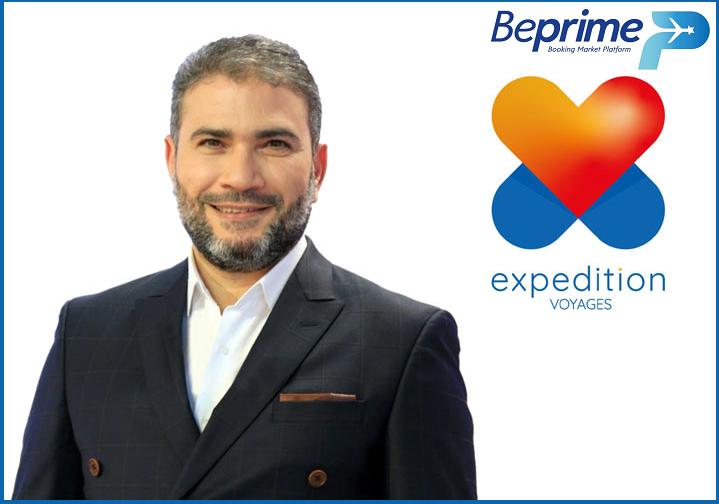 """وسام بن عامر يقتني وكالة أسفار """"Expedition Voyages"""" ويطلق المنصّة الإلكترونية الأحدث و الأكبر في السوق"""" Be-Prime Partner:"""