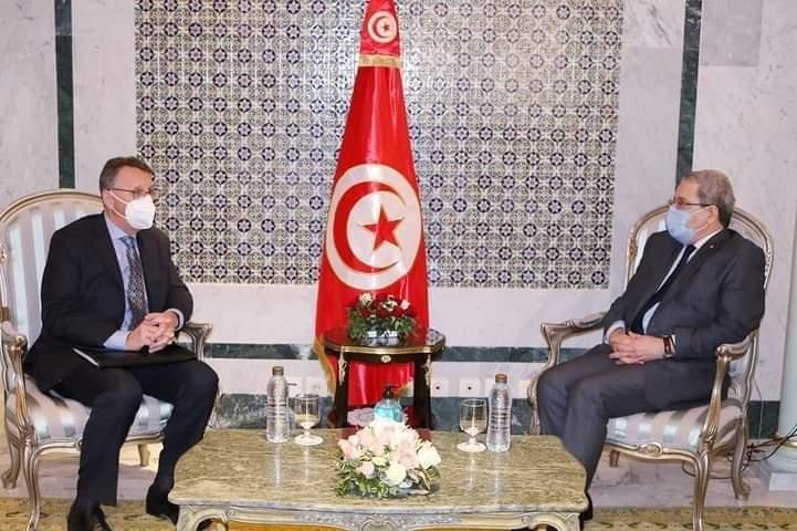 مزيد تعميق علاقات الصداقة والتعاون بين تونس وألمانيا في مختلف المجالات محور لقاء وزير الشؤون الخارجية مع سفير ألمانيا بتونس: