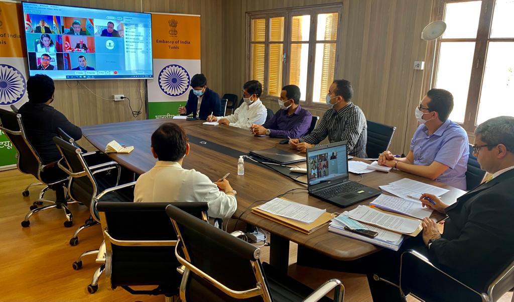 الجولة الرابعة للمشاورات بين وزارتي الخارجية الهندية و التونسية: