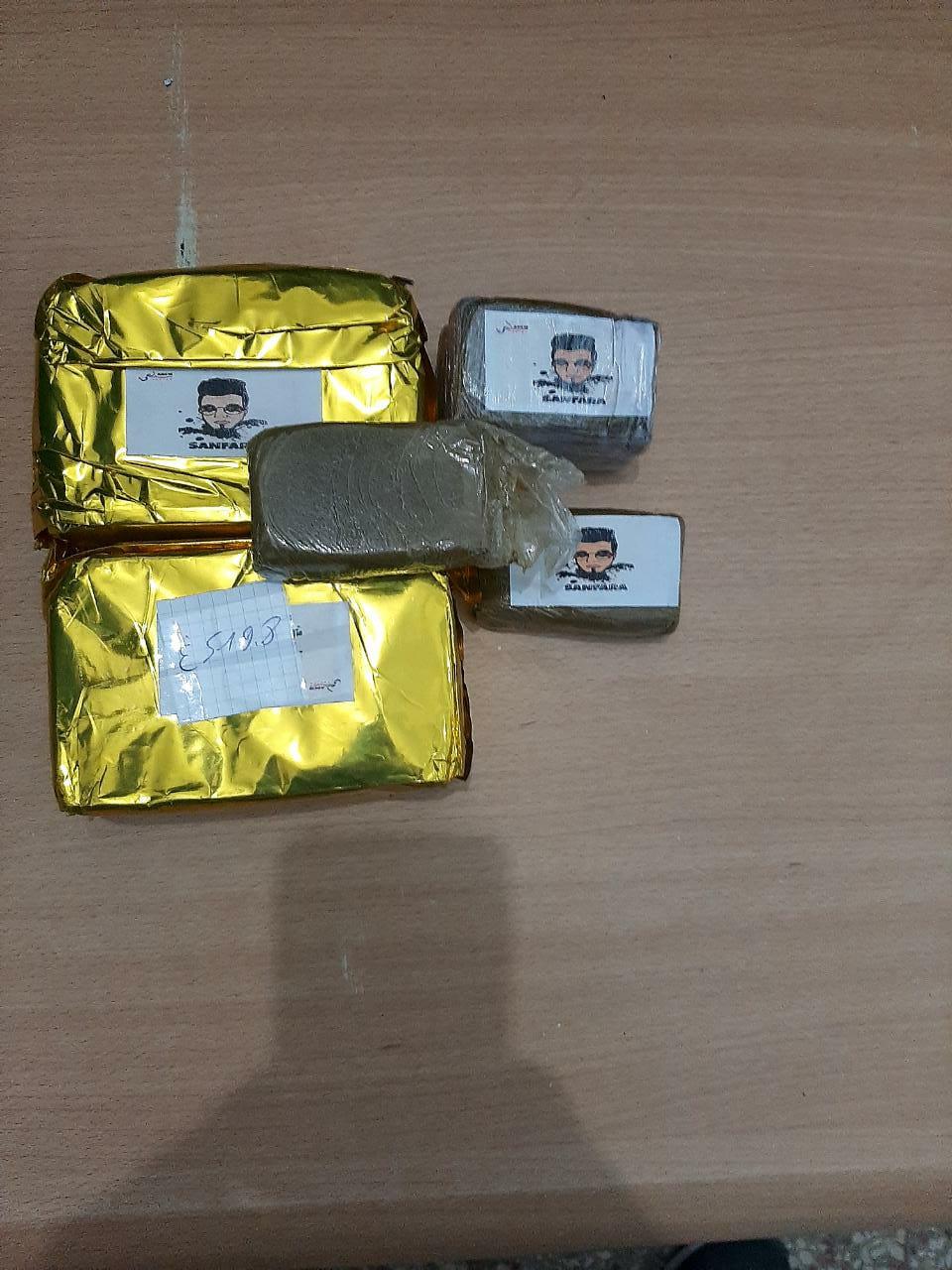 مصالح الحرس الديواني بسبيطلة تحجز كيلوغرام ونصف من مخدر القنب الهندي (الزطلة) مخفية على متن سيارة: