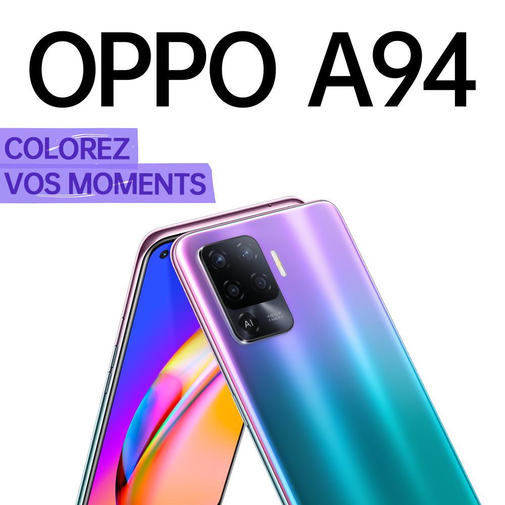 OPPO تطلق هاتفها الذكيّ الجديد A94 في تونس:
