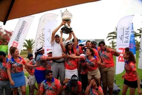 كأس تونس الثامنة للغولف:جمعية الغولف بالحمامات على جميع الواجهات:
