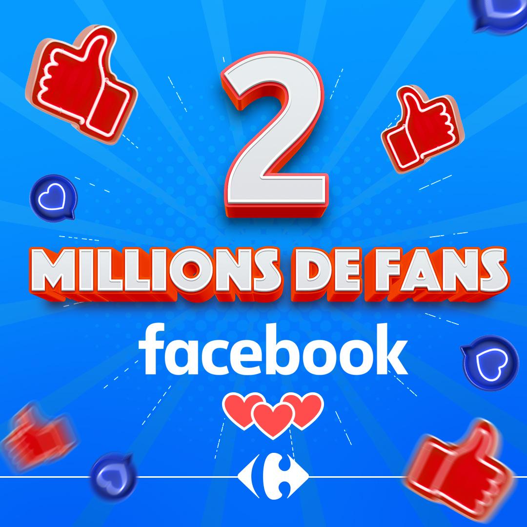 Carrefour Tunisie célèbre ses 2 millions de fans sur Facebook